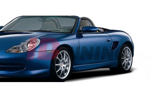Накладки на пороги Porsche Boxter (GT3 look)