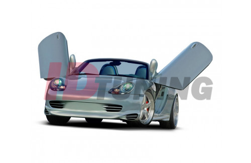 Спойлер на передний бампер Porsche Boxter Дорестайл