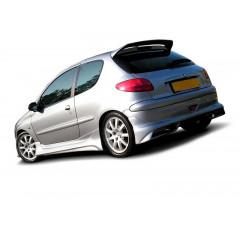 Накладки на пороги Peugeot 206 Хэтчбек(3дв)/CC