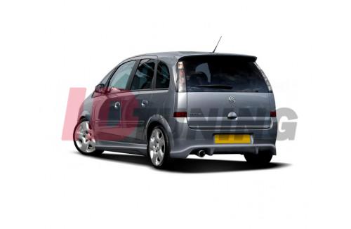 Накладка на бампер задний Opel Meriva