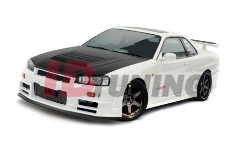 Бампер передний Nissan Skyline R34 GTT Z Type (без диффузора)