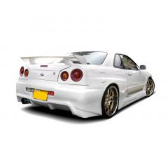 Расширенные задние арки Nissan Skyline R34 GTT вар.2