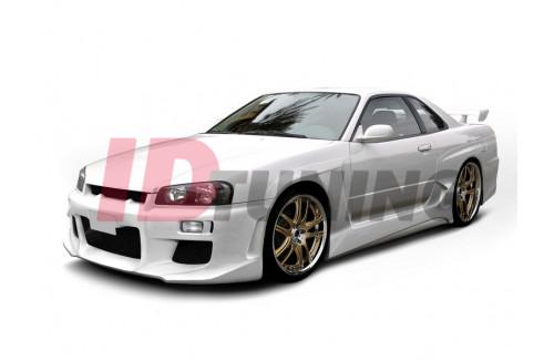 Расширенные передние арки Nissan Skyline R34 GTT
