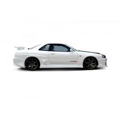 Накладки на пороги Nissan Skyline R34 GTT