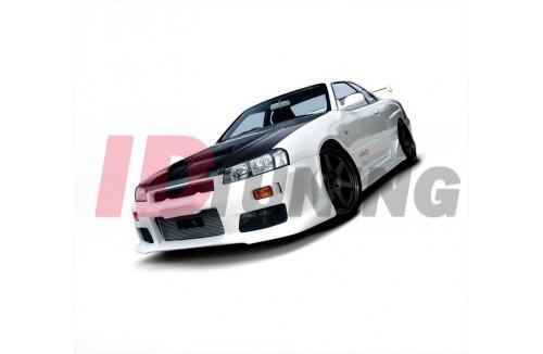 Бампер передний Nissan Skyline R34 GTT