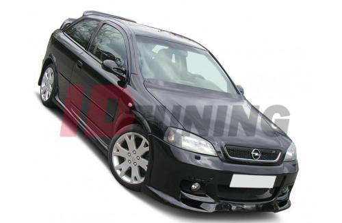 Бампер передний Opel Astra G