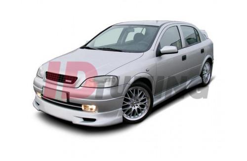 Накладки на пороги 2 Opel Astra G