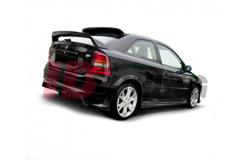 Накладка на бампер задний Opel Astra G Хэтчбек(3/5дв)
