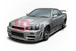 Бампер передний Nissan Skyline R34 GTR Z Type (без диффузора)