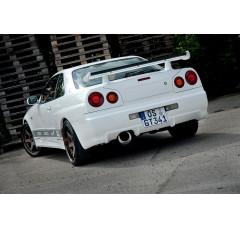 Накладки на фонари задние Nissan Skyline R34 GTR (GTR look)