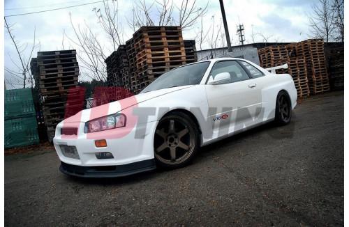 Расширенные передние арки Nissan Skyline R34 GTR (GTR look)