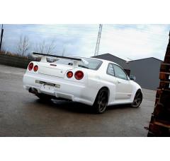 Бампер задний Nissan Skyline R34 GTR (GTR look)