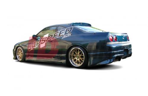 Бампер задний Nissan Skyline R33 GTS