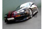 Бампер передний Nissan 200 SX S14 (только на S14A)