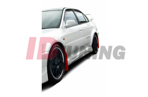 Накладки на пороги Mitsubishi Lancer Evo V