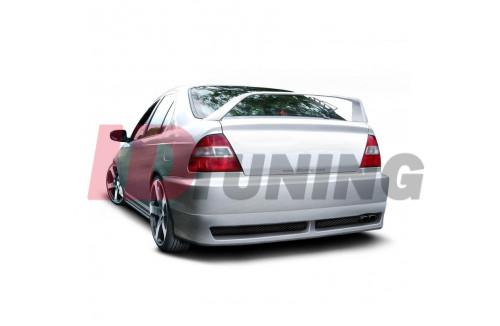 Накладка на бампер задний Honda Civic VI Рестайл Хэтчбек(5дв)