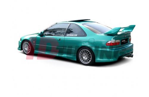 Накладки на пороги Honda Civic MK5 Купе