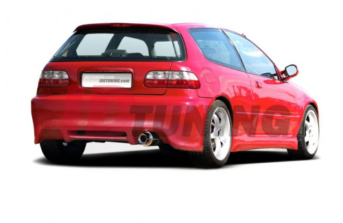 Бампер задний Honda Civic MK5 Хэтчбек
