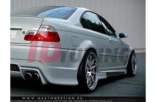 Накладки на пороги BMW 3 E46 Седан вар.2