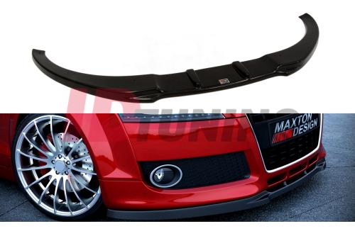 Сплиттер передний Audi TT MK2 (на стандартный бампер)