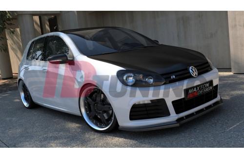 Сплиттер передний Volkswagen Golf VI R