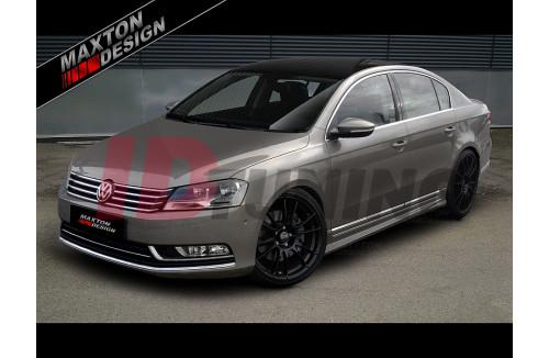 Накладки на пороги Volkswagen Passat B7 REVOLT