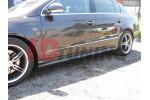 Накладки на пороги Volkswagen Passat B7 RLINE