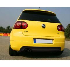 Накладка на задний бампер Volkswagen Golf V GTI EDITION 30 (одно отверстие под выхлопную трубу, выхлоп GTI)