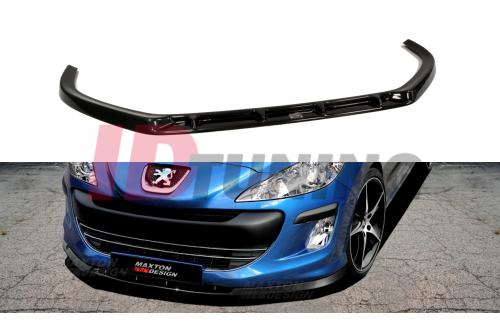 Сплиттер передний Peugeot 308 Дорестайл