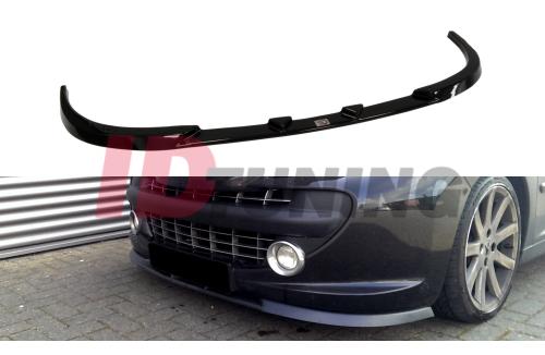 Сплиттер передний Peugeot 207 Дорестайл