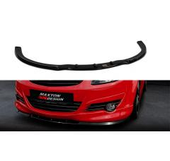 Сплиттер передний Opel Corsa D OPC-Line Дорестайл