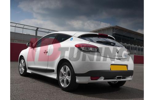 Накладка на бампер задний Renault Megane III Купе