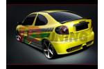 Накладки на пороги Renault Megane I