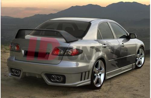 Накладки на пороги Mazda 6 GTN