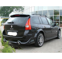 Накладка на бампер задний Renault Megane II Универсал Phase 1