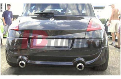 Накладка на бампер задний Renault Megane II Хэтчбек Phase 1