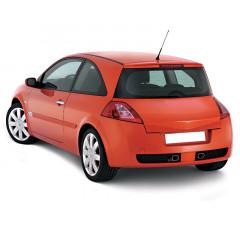 Бампер задний Renault Megane II Хэтчбек