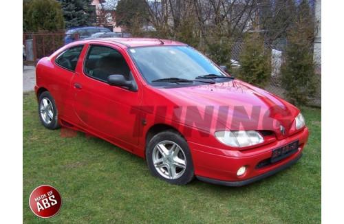 Накладки на пороги Renault Megane I Купе/Кабиолет