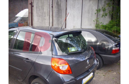 Спойлер 1 Renault Clio III