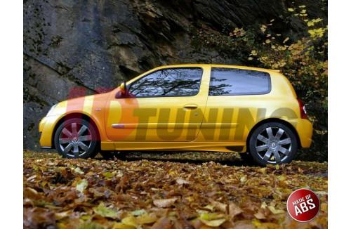 Накладки на пороги Renault Clio II