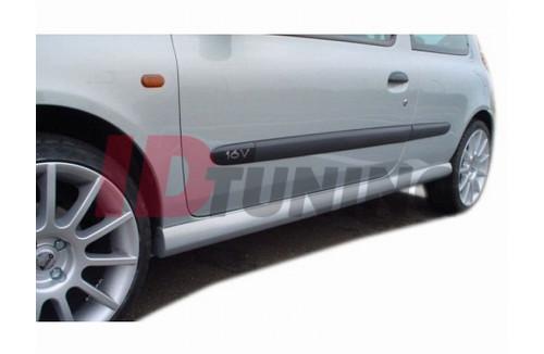 Накладки на пороги 3 Renault Clio II