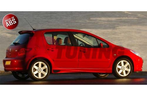Накладки на пороги Peugeot 307