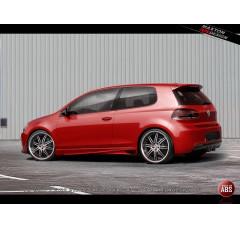 Накладки на пороги Volkswagen Golf VI вар.1