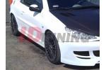 Накладки на пороги 1 Peugeot 206