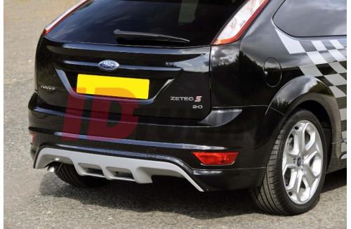 Накладка на бампер задний Ford Focus II Хэтчбек Рестайл