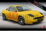 Накладки на пороги Fiat Coupe вар.1