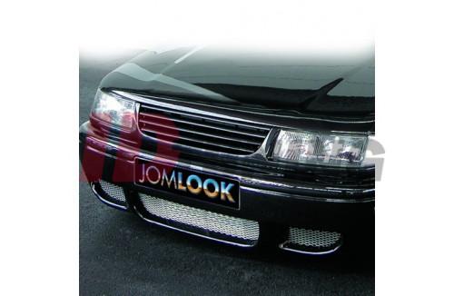 Решетка радиатора без значка, черная VW Passat 35i 1993-